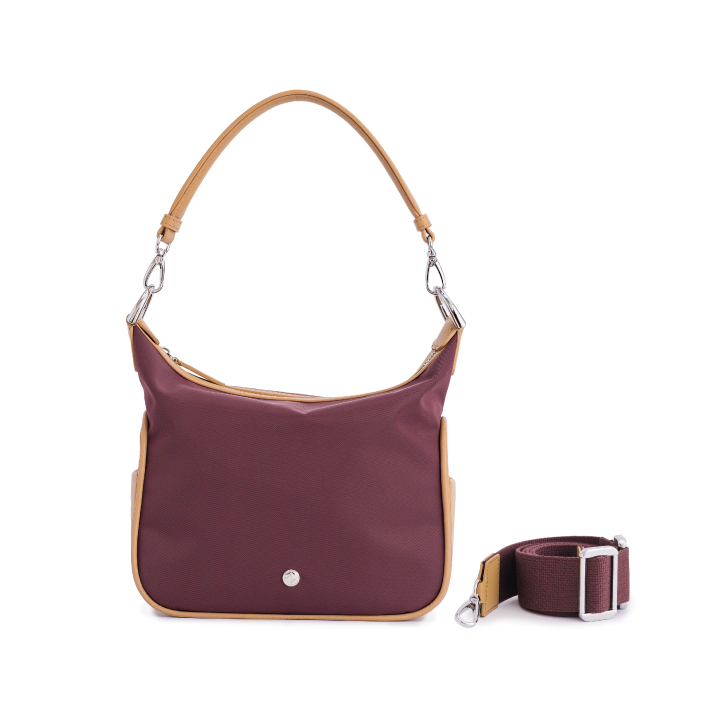 VERA Bob's with Canvas Strap in Night Burgundy