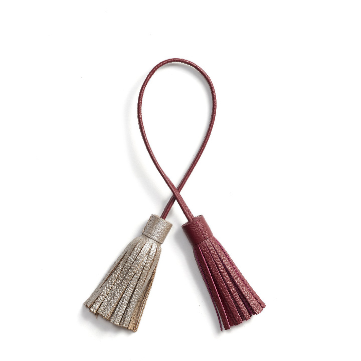 VERA Tassel in Red Wine