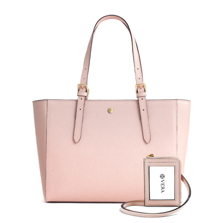 VERA The First Bag and Badge in Soft Pink