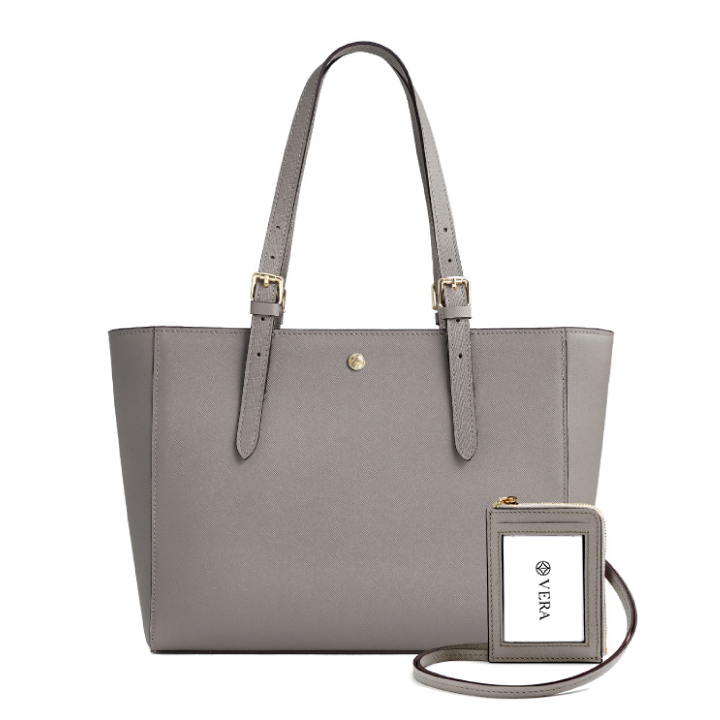 VERA The First Bag and Badge in Taupe